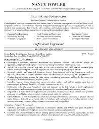 healthcare career objective examples sample resume cover letter for coordinator examples of objectives for resumes in healthcare