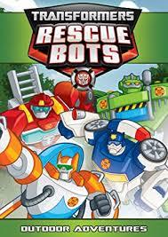 Transformers Rescue Bots: Outdoor Adventures ... - Amazon.com