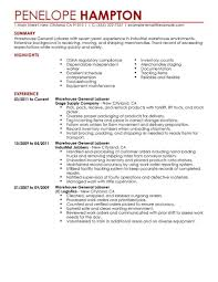 example of a resume objective professional resume cover letter example of a resume objective resume objective statements enetsc objective resume warehouse summary experience examples