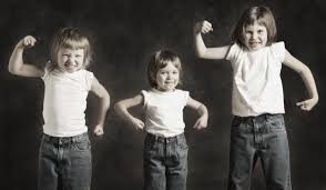 on being strengths based visible child 3 kids muscles
