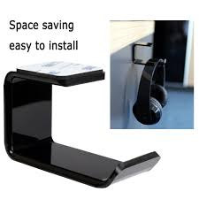 Sticker <b>Acrylic Headphone Bracket Wall</b> Mounted Headset Holder ...