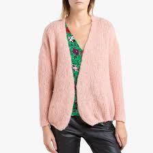 <b>Кардиган короткий</b> из трикотажа boolder розовый American ...