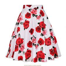 Cheap Sexy Skirts <b>Womens</b> 2018 Vintage Short <b>Tutu Skirt Floral</b> ...