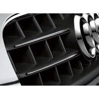 <b>Хромированные накладки</b> решетки радиатора Audi A5 Coupe ...