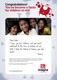 turn a friend into santa give him magna gift certificate magna purchase your christmas gift certificate thanks to which you can save life of children and at the same time get a great gift for your friends or family
