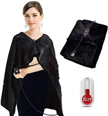 Aotoer USB <b>Heated Shawl</b>, Electric <b>Heating Pad Fast Heating</b> ...