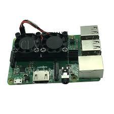 <b>Raspberry Pi</b> 3 Model B + (плюс) двойной вентилятор модуль ...