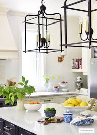 Lemon And Lime Kitchen Decor Summer Home Tour With Beautiful Blues And Fresh Greenery