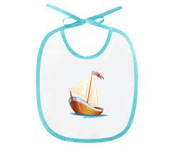"Слюнявчик ""<b>Кораблик</b> плывущий по волнам."" #2585458 от CAXAP ..."