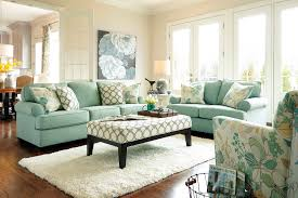 beauty living room furniture with pale green fabric l shape sofa plus flourish motif comfort chair same as cushions pattern combined pa beauty room furniture