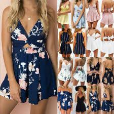 <b>Summer</b> Floral <b>Jumpsuits</b> & <b>Rompers</b> for <b>Women</b> for sale | eBay