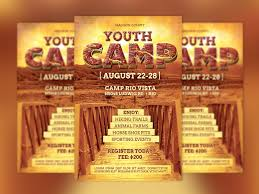 revival flyer template photos graphics fonts themes templates youth camp flyer template