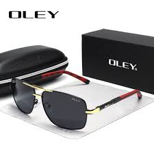 OLEY Brand <b>Polarized Sunglasses Men</b> New <b>Fashion</b> Eyes Protect ...