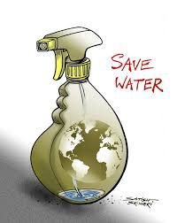 sringericartoons save water