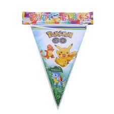 <b>10PCS</b> Happy Birthday Party <b>Pokemon</b> Go Theme Cute Paper ...