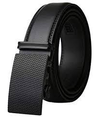 Buy Dante <b>Men's Leather Ratchet</b> Dress Belt with Automatic Buckle ...