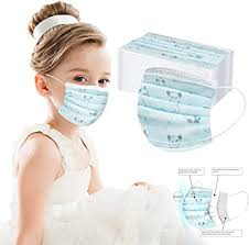 <b>Disposable Boy and</b> Girl Printed Face Coverings for Children 3 ...