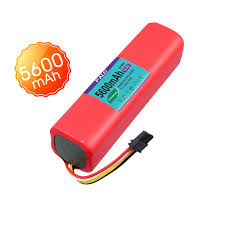 For Xiaomi My Robot Vacuum Cleaner 14.4V <b>5600mAh Li</b>-<b>ion</b> ...