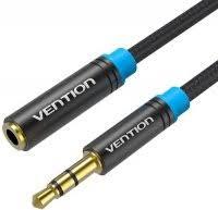 Кабель-удлинитель <b>Vention Jack 3.5mm</b> M/Jack 3.5 F, 0,5 м (VAB ...
