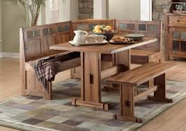 kitchen table long benches