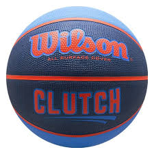 <b>Мяч баскетбольный WILSON Clutch</b>, р.7, резина, сине ...