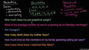 statistical questions practice khan academy