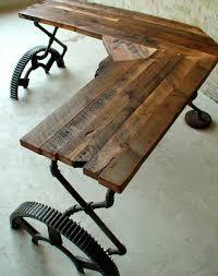 industrial style furniture desk corner table itself building build industrial furniture