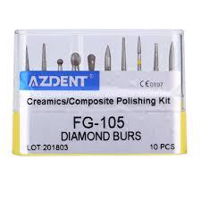 <b>10</b> pcs/set <b>Dental</b> High Speed <b>Diamond</b> Burs TR 21S <b>Dentist</b> Tools ...