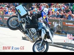BMW <b>R 1200</b> GS, BMW Motorrad Days 2013, Chris Pfeiffer, Stunt ...