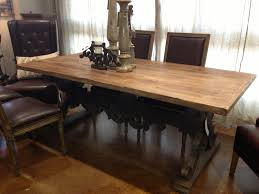 Dining Room Tables Reclaimed Wood Next Aprev A Natural Brandt Dark Cherry Wood Dining Table Listed