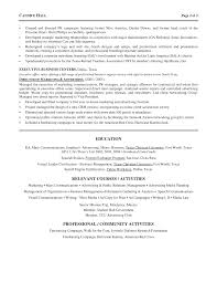 marketing director resume advertising marketing director resume
