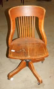 image 1 vintage wood office chair antique wood office chair