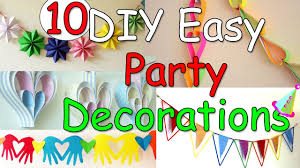 10 DIY Easy <b>Party Decorations</b> Ideas - Ana | DIY Crafts - YouTube