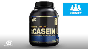 Optimum <b>Gold Standard 100</b>% Casein Science-Based Overview ...