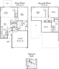 Two Story Floor Plans With Basement imagesTwo Story Floor Plans With Basement Two Story Home Plans With
