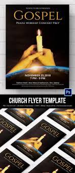 church flyers 26 psd ai vector eps format candle light church flyer
