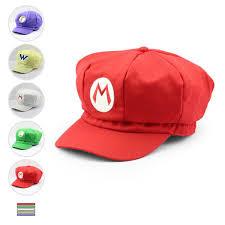 2019 <b>5 Styles Super</b> Mario Hat <b>Super</b> Mario Bros <b>Anime</b> Cosplay ...