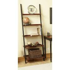 french country ladder  convenience concepts french country bookshelf ladder