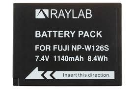 <b>Аккумулятор Raylab RL-W126S</b> 1140мАч (для Fujifilm X-T2, X-T3 ...