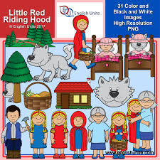 english unite clip art little red riding hood english unite