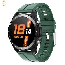 <b>Ck30 Smart Watch</b> with Bluetooth Call Heart Rate Monitoring Round ...