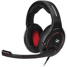Amazon.com: <b>Sennheiser Game ONE</b> Gaming Headset - <b>Black</b> ...