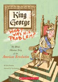 my brother sam is dead discussion guide scholastic king george what was his problem