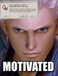 MOTIVATED | Scaling Warning Message Images | Know Your Meme via Relatably.com
