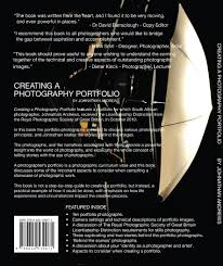 creating a photography portfolio johnathan andrews creating a photography portfolio coverback 1