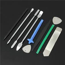 <b>10 in 1 opening</b> repair tools disassemble set kit for mobile phone ...