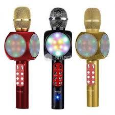 Микрофоны-<b>караоке</b> беспроводные с динамиками в ...