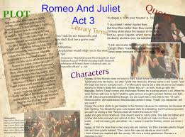 essays on romeo and juliet act scene