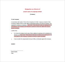 resignation letter format  word excel pdf format  templatessimmondsstewartcom the director resignation letter in pdf is an informative resignation letter that explains the reasons and