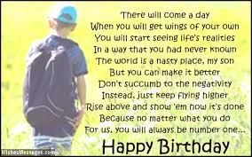 Birthday Poems for Son – WishesMessages.com via Relatably.com